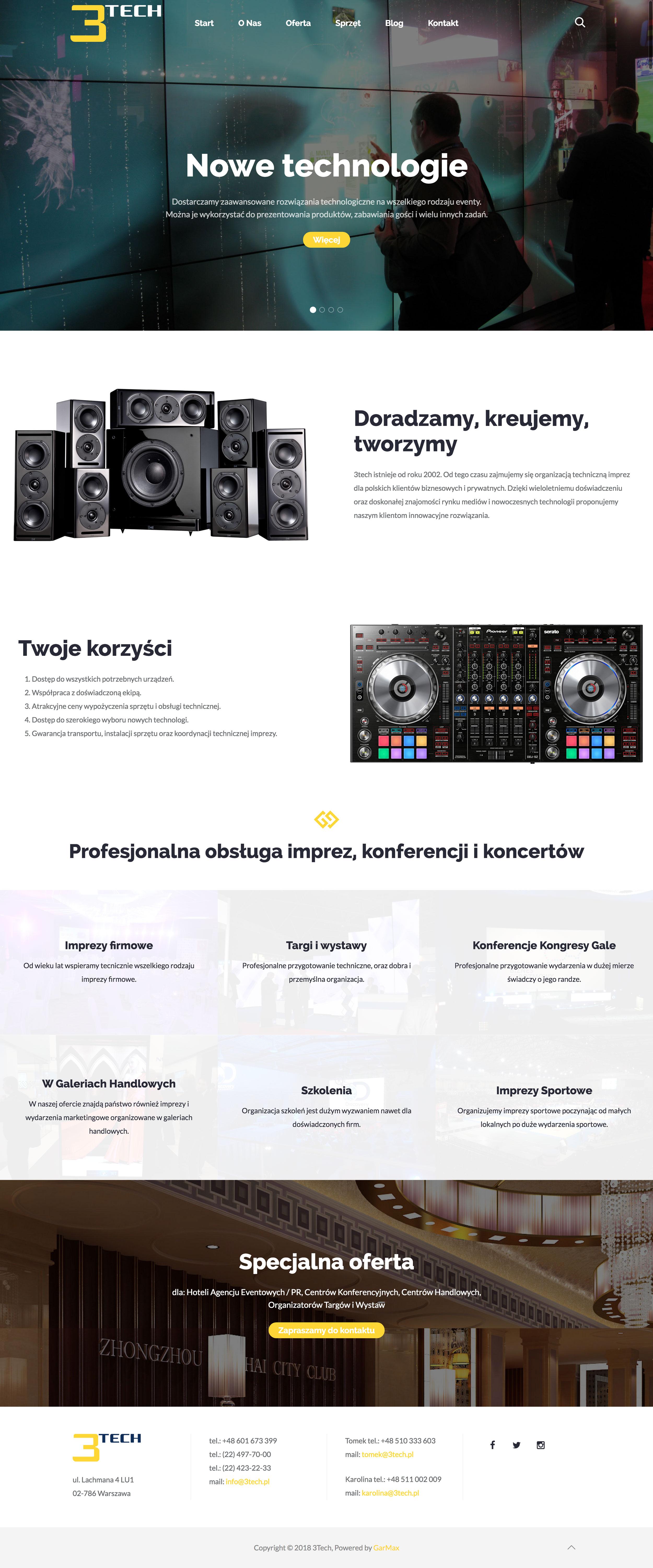 3Tech - Strona Główna