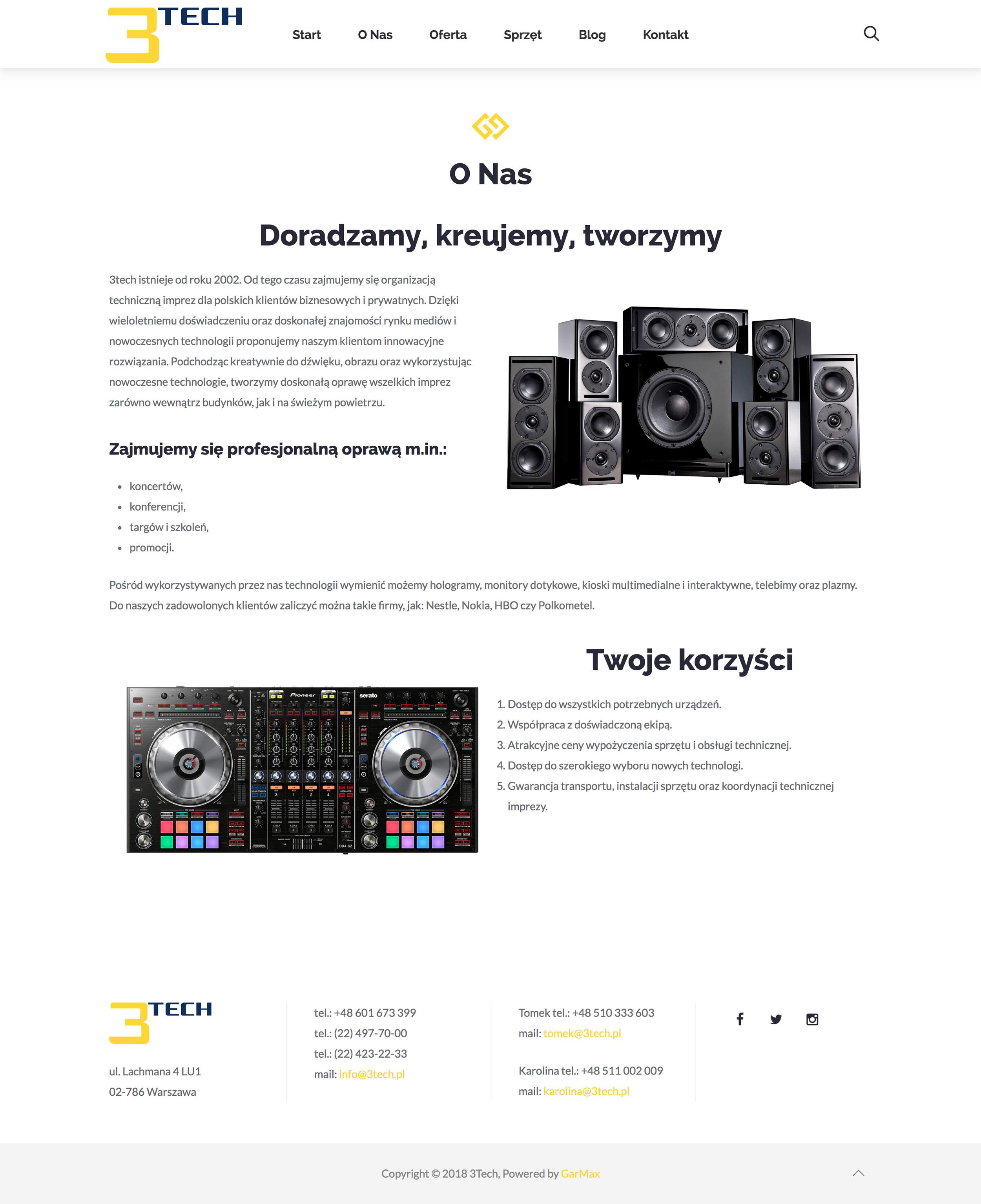 3Tech - O Nas