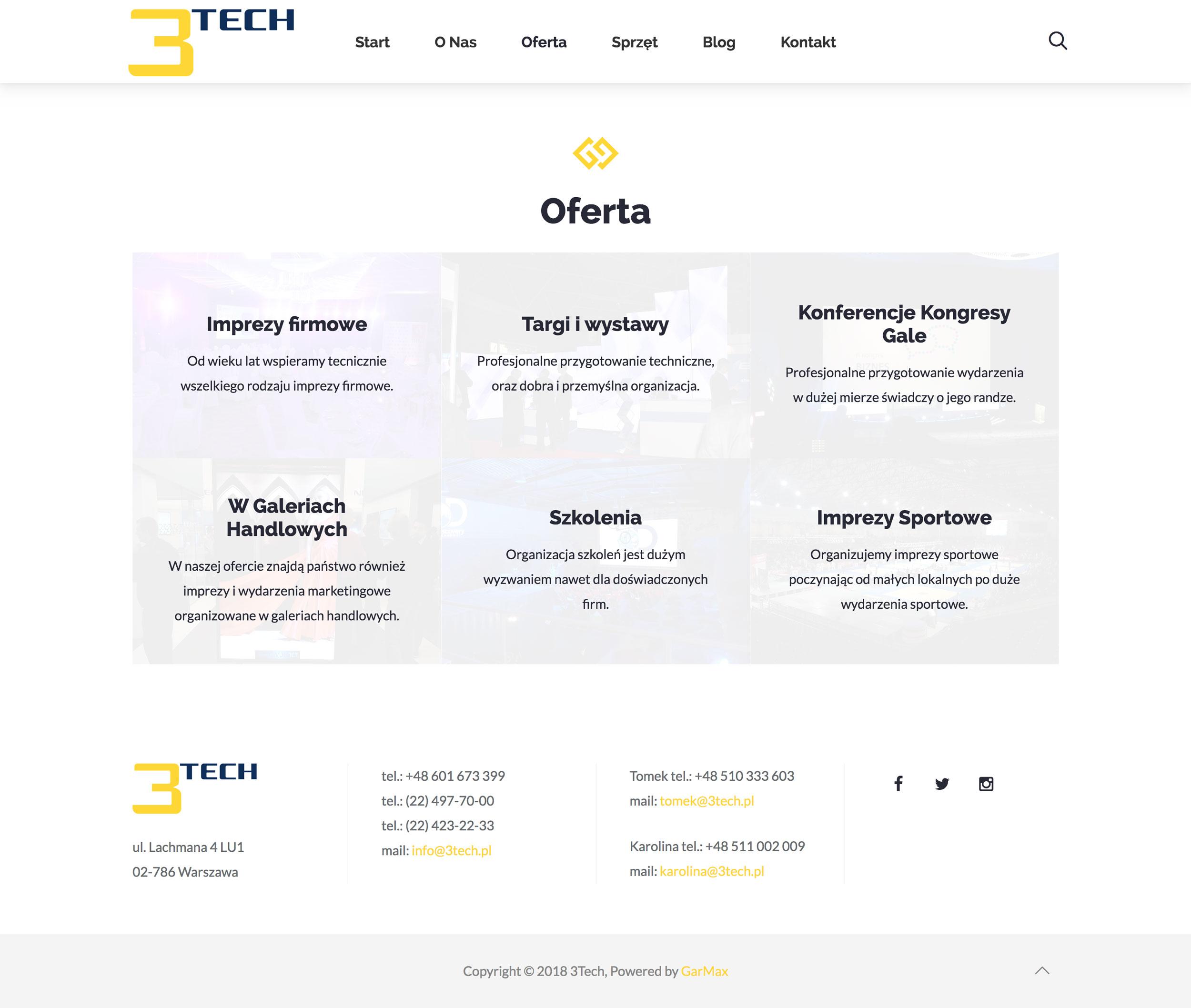 3Tech - Oferta