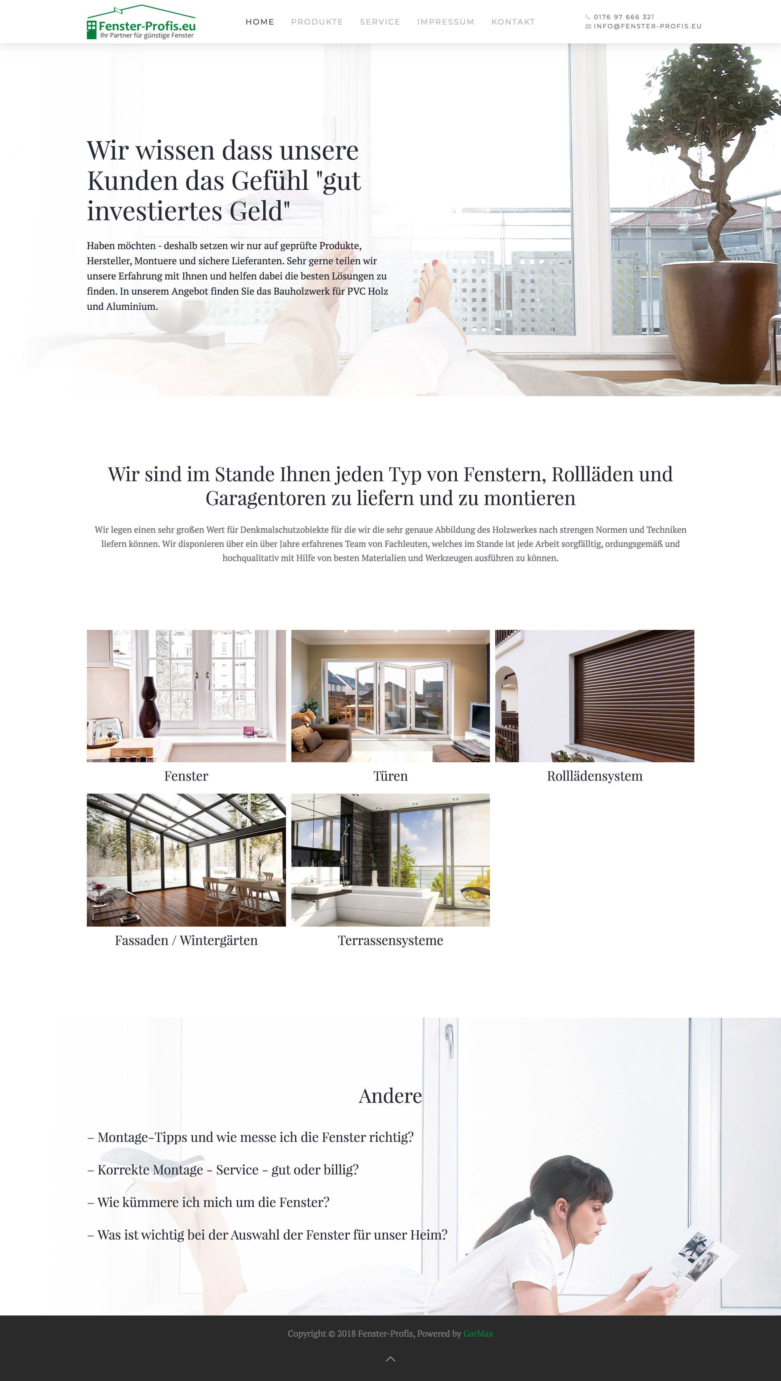 Fenster-Profis - Home