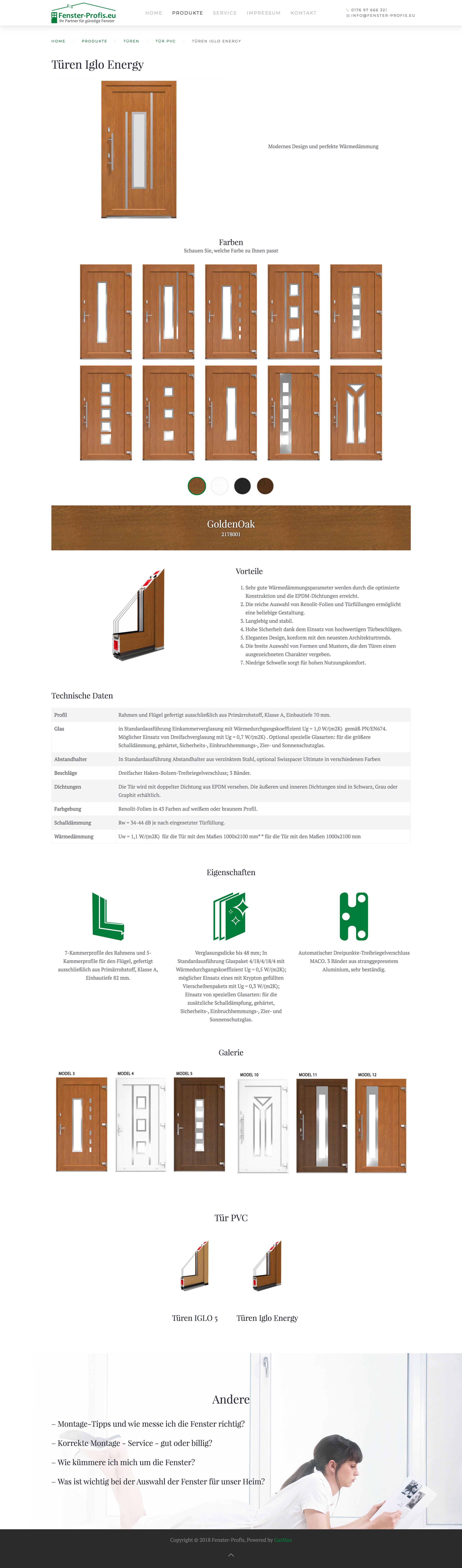 Fenster-Profis - Produkt 2