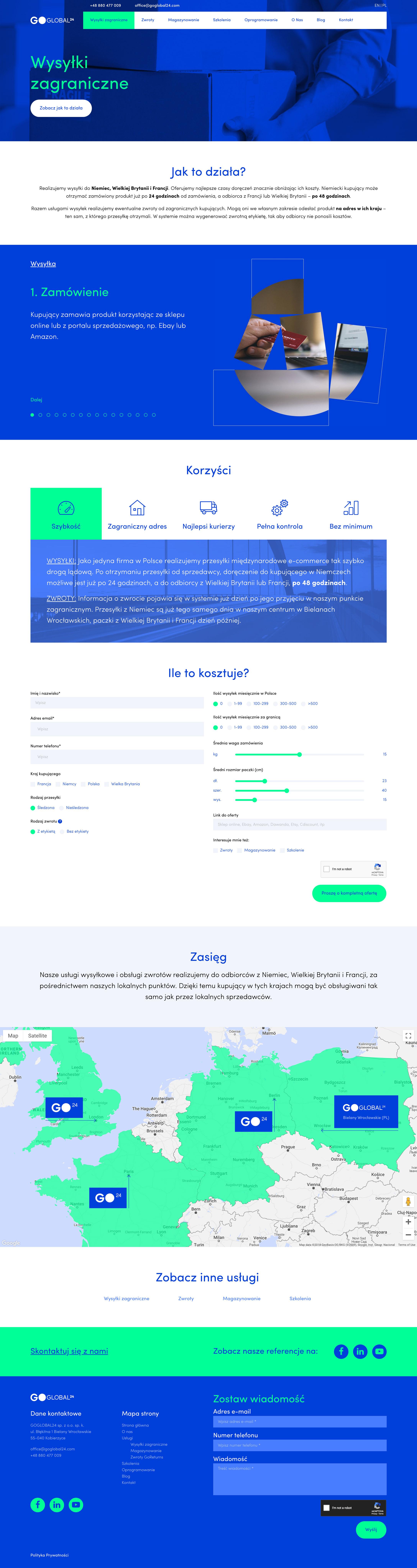 GoGlobal24 - Usługa