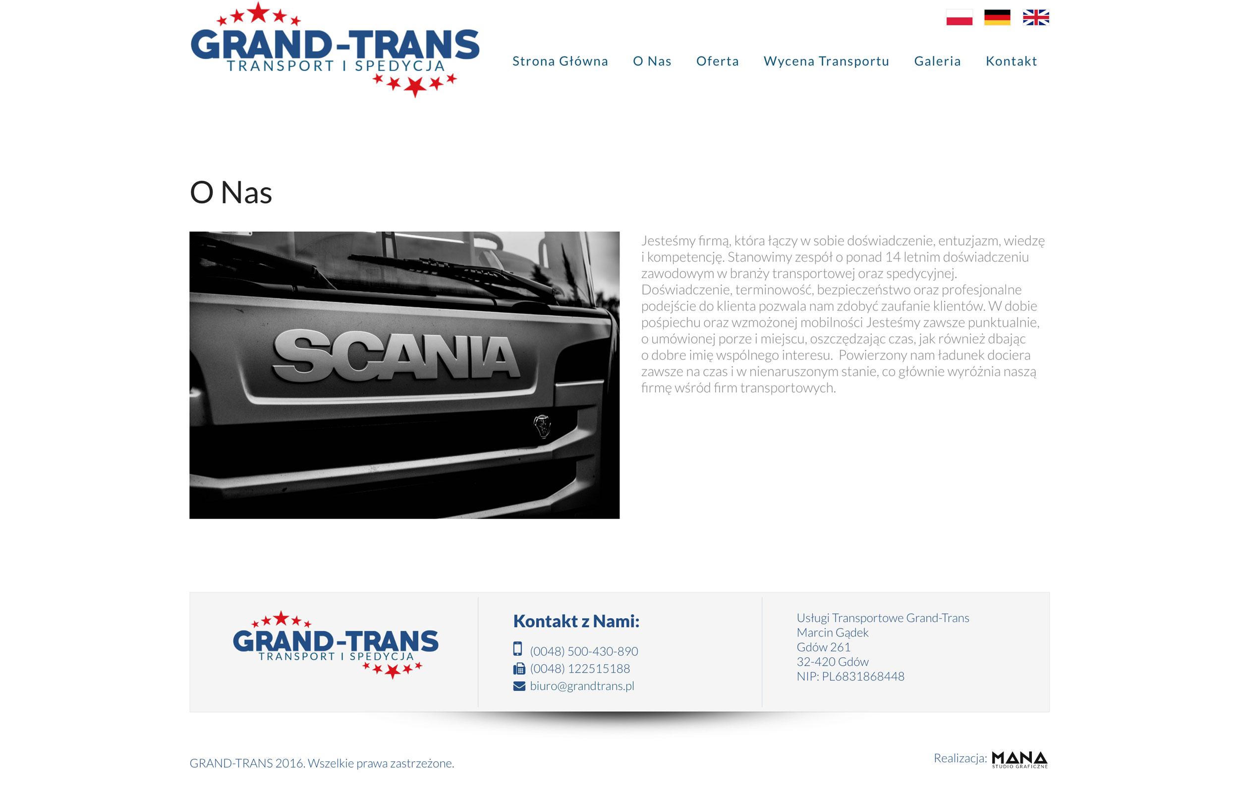 Grand-Trans - O Nas