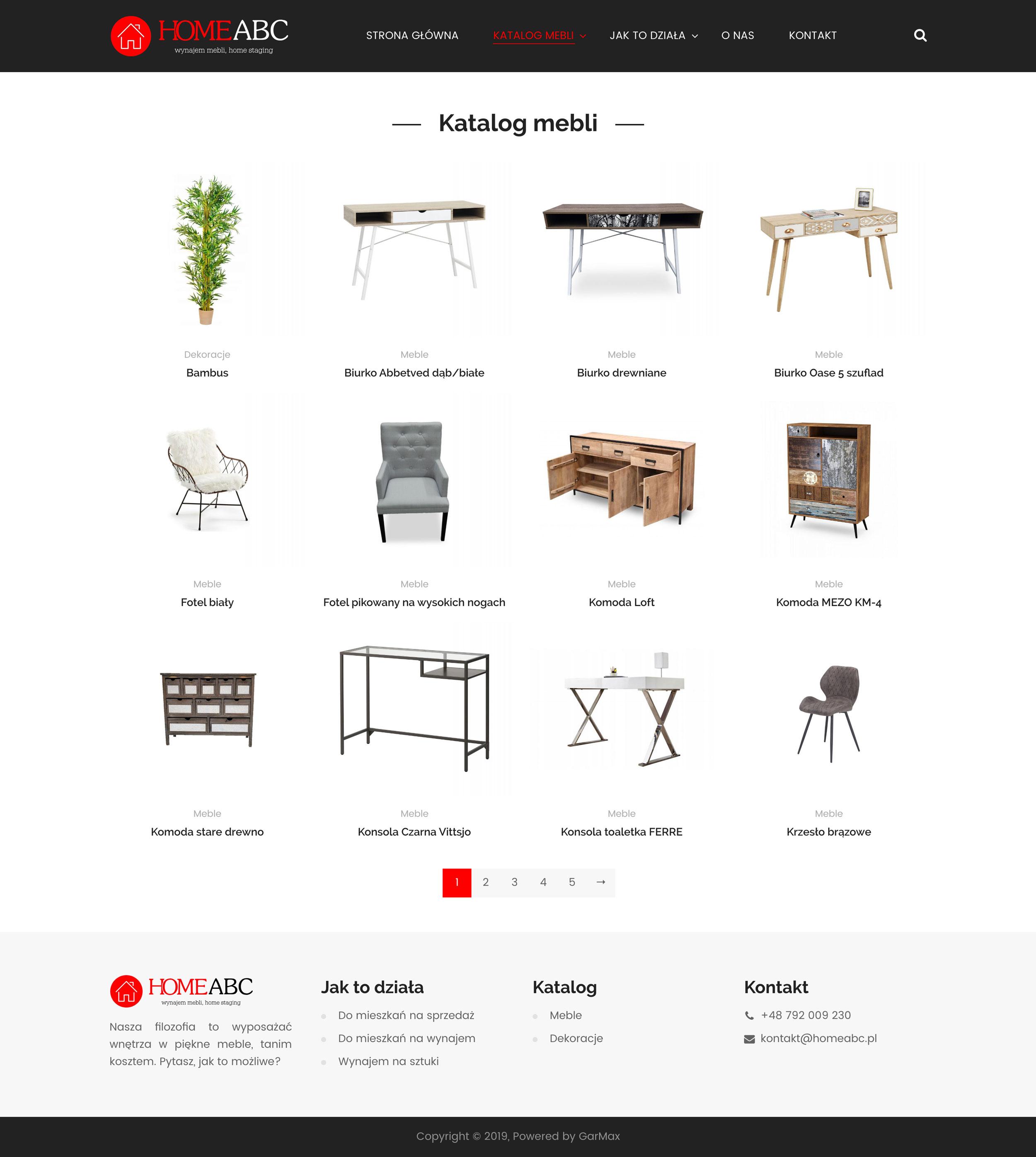 HomeABC - Katalog