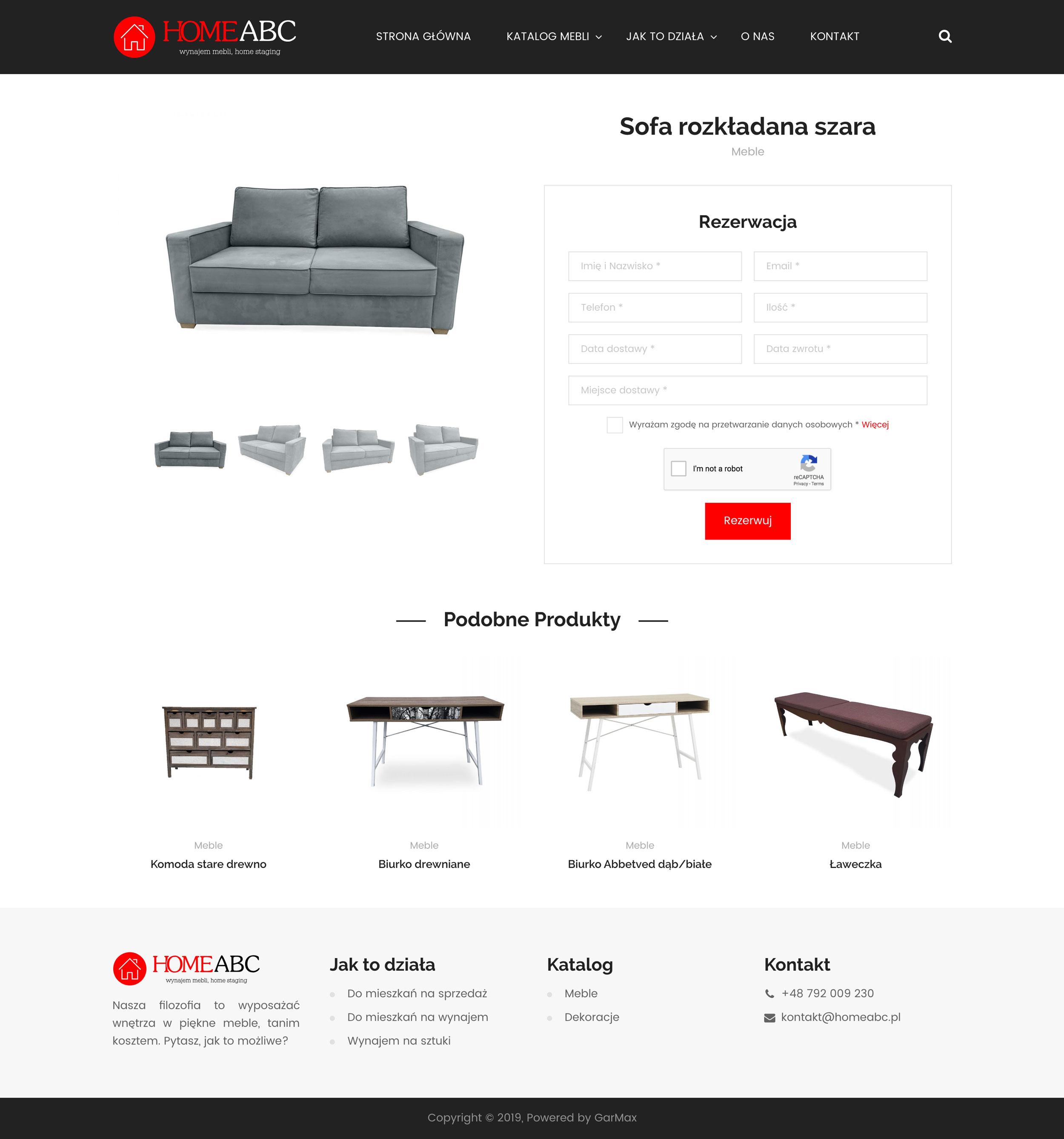 HomeABC - Produkt